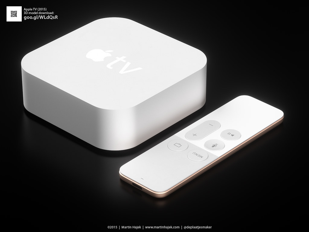 Apple TV '15 in white!