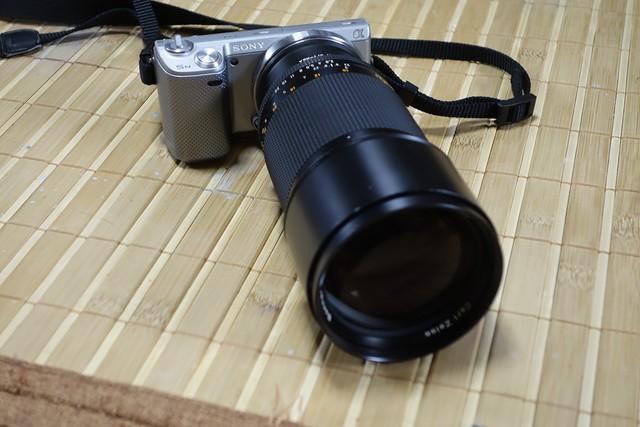 Carl Zeiss Sonnar 180mm F2.8 AEG その2