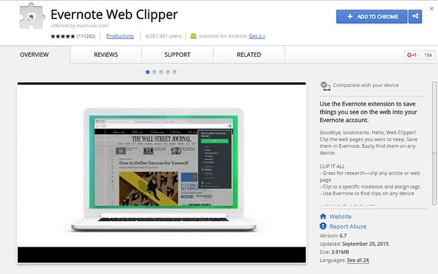 Most Downloaded Chrome Extensions Of 2015