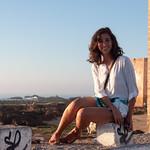 Ceci en la muralla de Essaouira