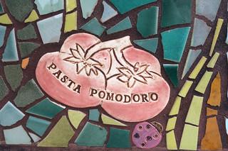 Hidden Garden Steps - Stairs Pasta Pomodoro