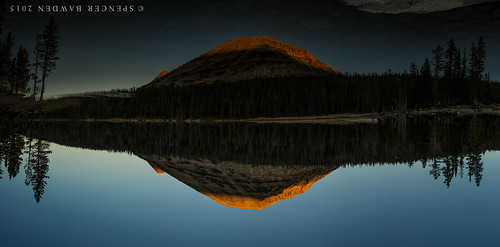 panorama lake mountains reflection nature water forest sunrise canon outdoors mirror utah highway wasatch uintas ripple pano down panoramic national 24mm simple upside t3i rokinon
