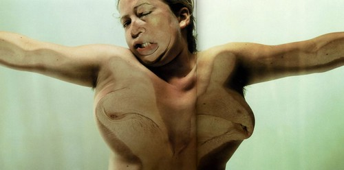 Jenny Saville and Glen Luchford, from the Closed Contact series, 2002