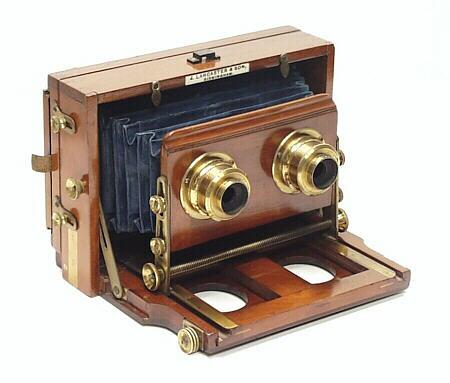 Stereo Instantograph Stereoscopic Camera 1904-07 JLancaste