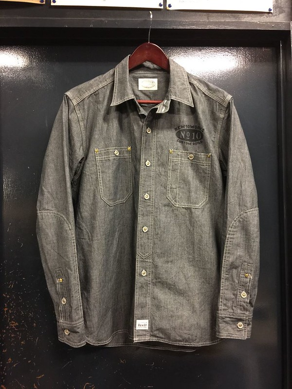 REW10 WORK CHAMBRAY SLATE