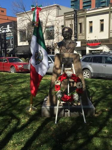 Se realiza en Calgary un acto cívico en memoria de José María Morelos y Pavón