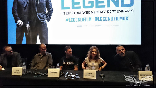 The Establishing Shot: LEGEND PRESS CONFERENCE - ACTOR CHRISTOPHER ECCLESTON DISCUSSES HIS CHARACTER NIPPER REED - SOHO HOTEL,   LONDON