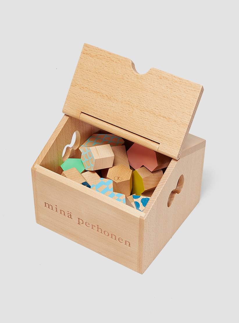Mina Perhonen Tsumiki Building Blocks Light Brown
