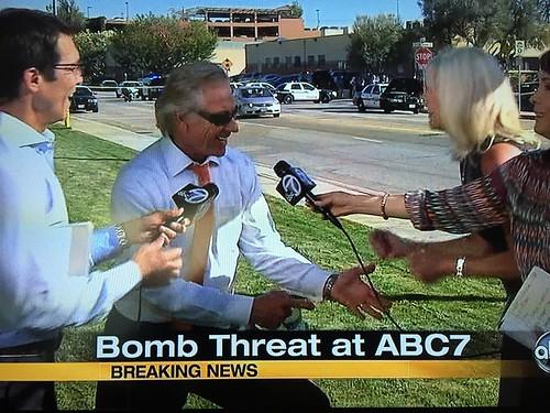 KABC bomb scare