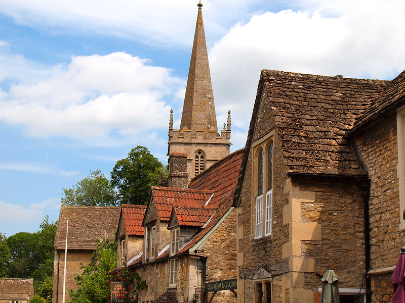 Lacock village in the Cotswolds