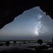 Starry Night Astrophotography!  Nikon D810 Fine Art Night Milkyway Photography! Astro Landscape Astroscape Seascape! by 45SURF Hero's Odyssey Mythology Landscapes & Godde
