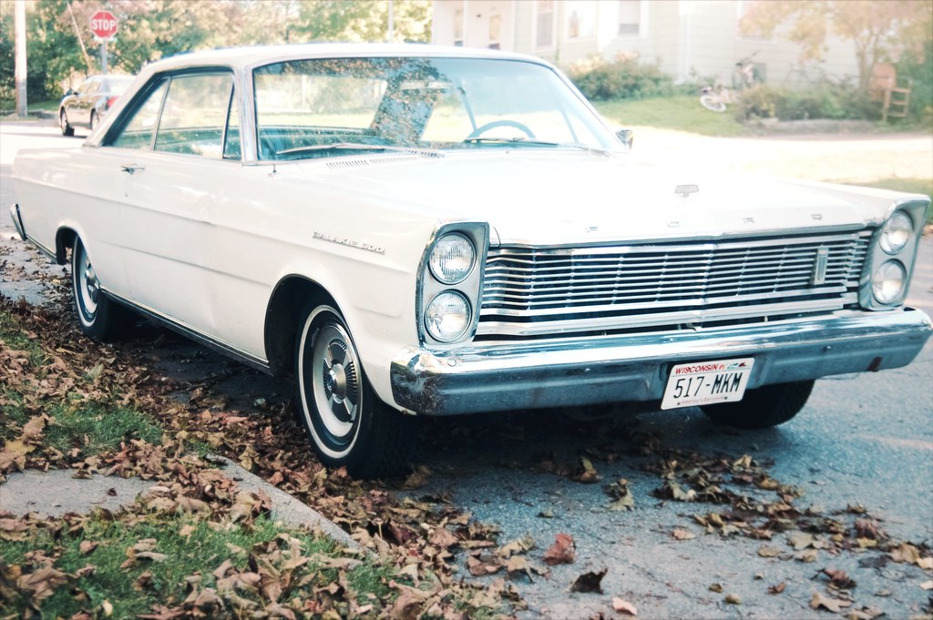 280/365. pondering what the galaxie ( 500 ) says about me.