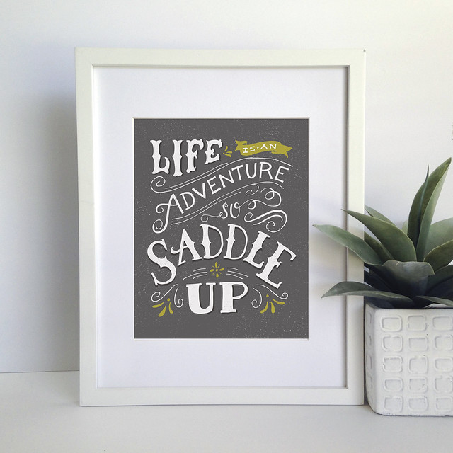 saddle up charcoal