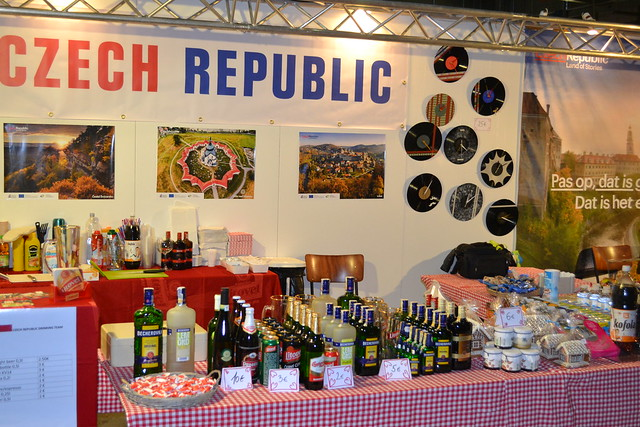 Czech Stand at the International Bazaar of Luxembourg - 2014 edition