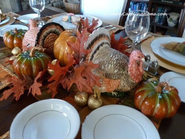 Thanksgiving Tablescape 2015 2