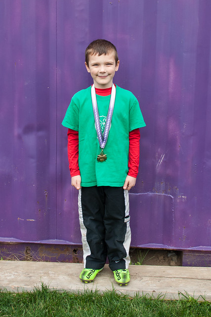 Brandon's Fall U6 Medal