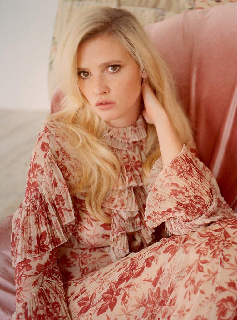 Лара Стоун — Фотосессия для «Harper's Bazaar» UK 2015 – 2