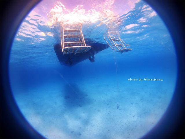 3島それぞれのブルーな海を楽しんだ一日でした♪