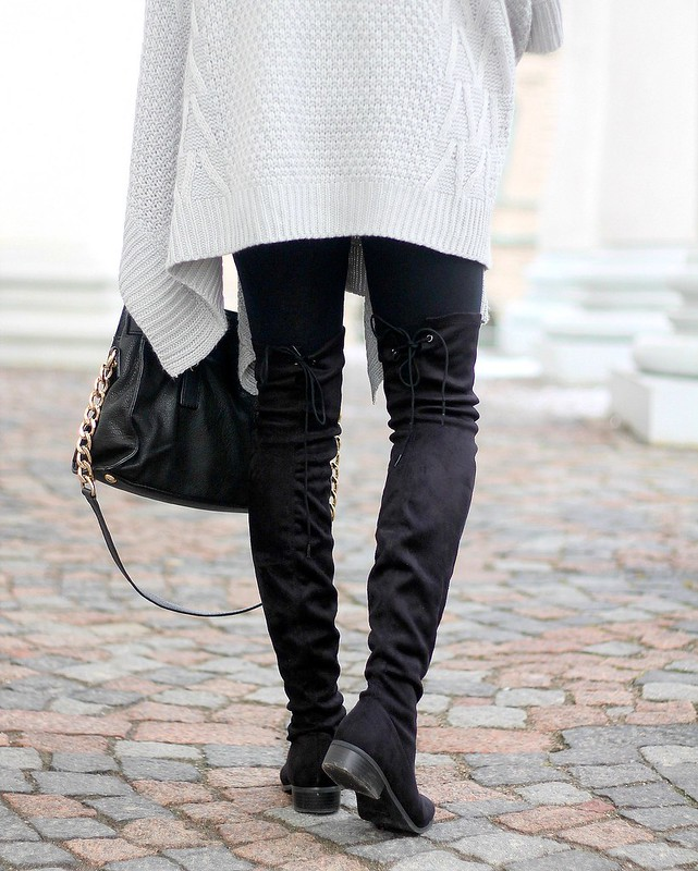 overknee boots outfits