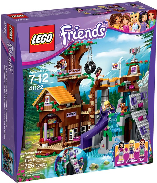 LEGO Friends 41122 - Adventure Camp Tree House