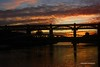 The back lit bridge