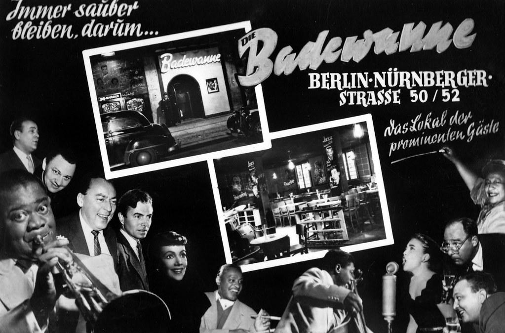 Berlin Schoneberg Nurnberger Strasse 1956 Badewanne Inh Flickr