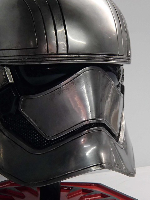 Finished Phasma Helm Closeup