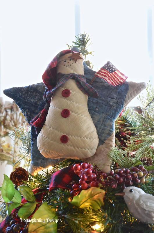 Sunroom Christmas Tree Topper - Housepitality Designs
