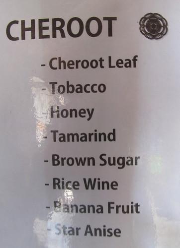 Lac Inlé: recette des cigares épicés