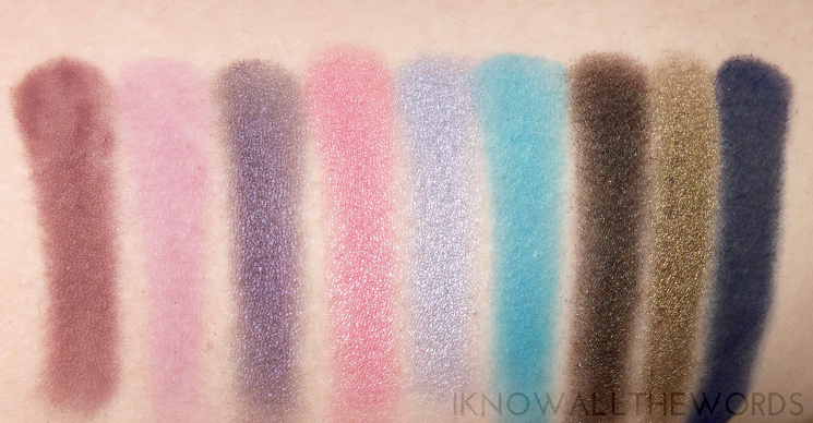 Sephora Collection Colour Wonderland Neutral & Vivid Eyeshadow Palette- vivid side (1)