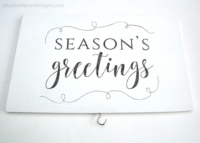 Season's Greetings Sign