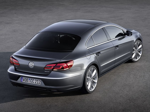 Купе-седан Volkswagen CC BlueMotion. 2012 год