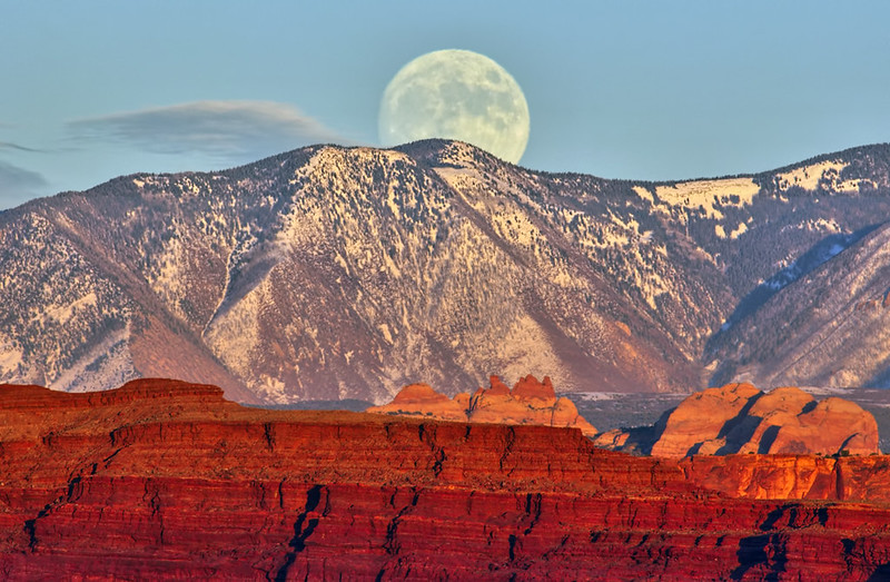 A Full Moon over Moab