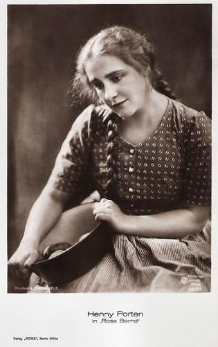 Henny Porten in Rose Bernd (1919)