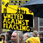 Anti-fracking campaigner Tina Louise Rothery's court case in Preston protest - 4