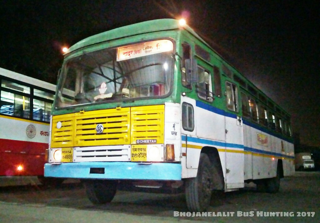 N Owl Next Bus Lalit Bhojane MSRTC's ...