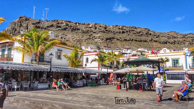 Plaza de la Musica Square, Puerto de Mogan, Gran Canaria, Spain - 4826
