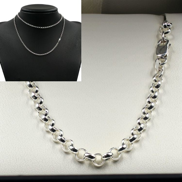 Sterling Silver Belcher Chain Combined  for Sale - Fraser Ross - Chain Me Up
