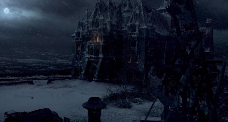 Crimson Peak Locations