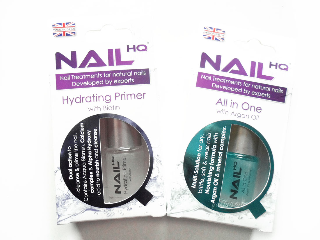 Nail HQ hydrating primer and all in one review