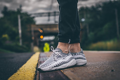 Pinstripe Footscape Woven