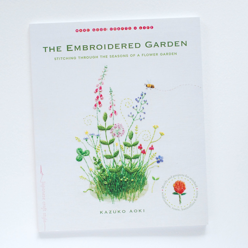 book review // The Embroidered Garden