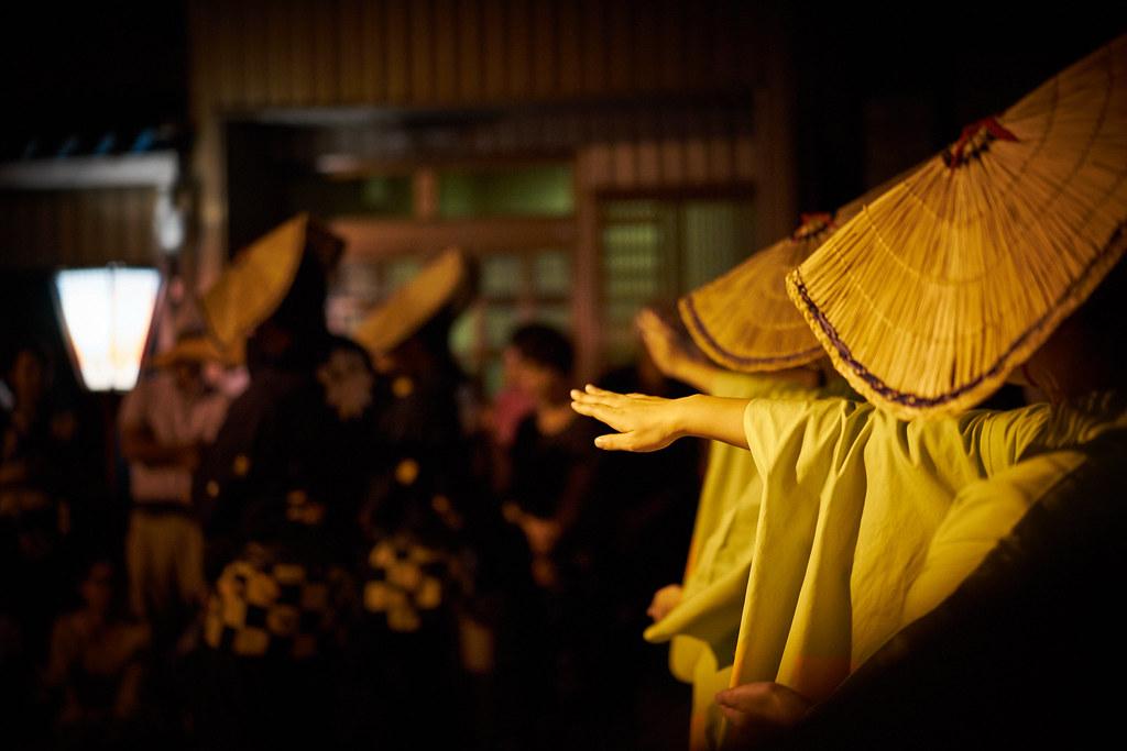 おわら風の盆 前夜祭 10日目