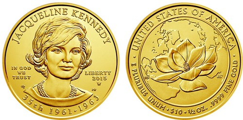 Jackie Kennedy coin