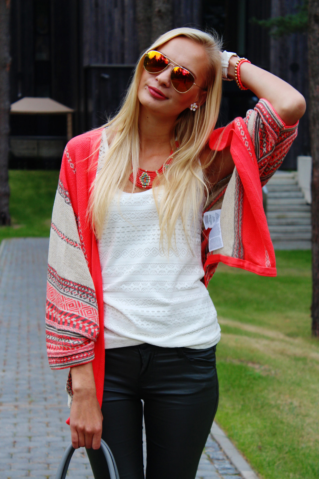 aztec-tribal-print-cardigan