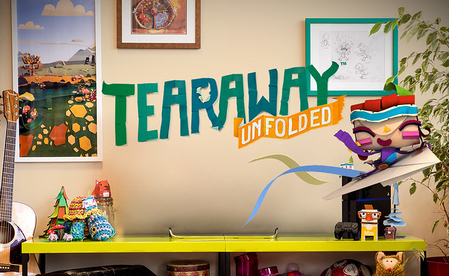 PlayStation Store - Tearaway Unfolded
