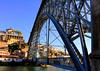 Le pont Dom-Luís au Portugal by CaroSpoky