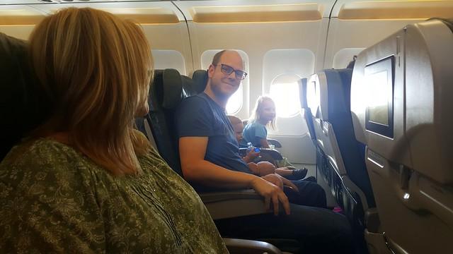 1st Plane Ride