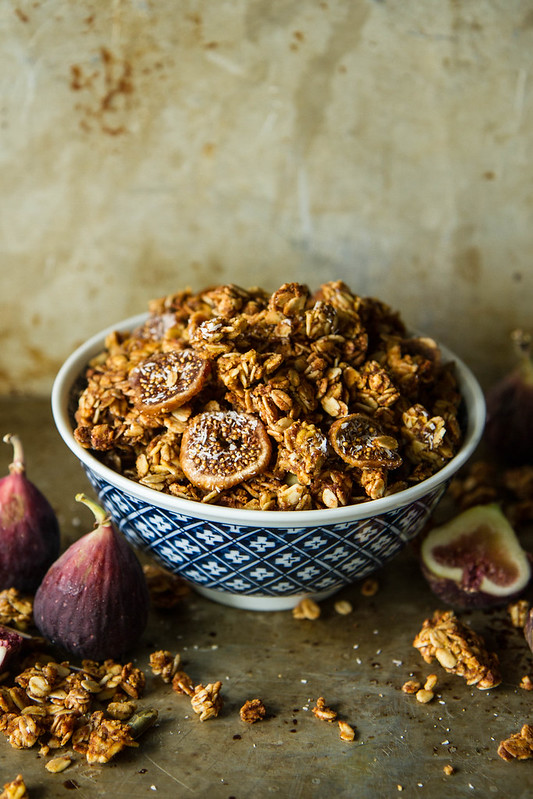 Pumpkin Fig Coconut Granola- gluten free/vegan