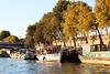 boats at the Seine by Katrinitsa
